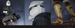 GG Hawkbat Clone Trooper Statue Details