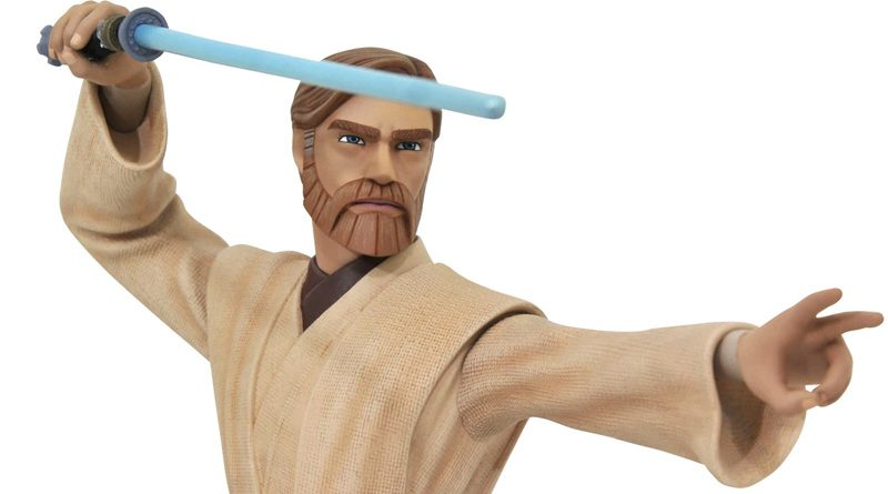 GG Obi-Wan Kenobi Animated Mini Bust Banner