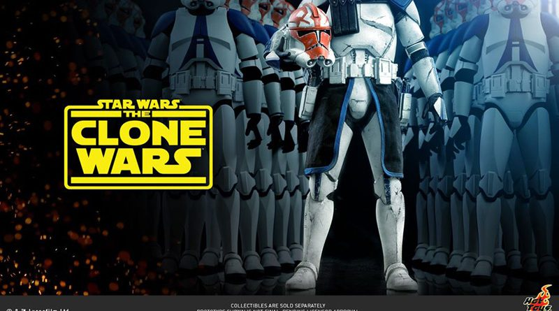 Hot Toys Clone Wars Announcement Banner