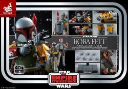 Hot Toys TESB 40th Anniversary Kenner Boba Fett Accessories