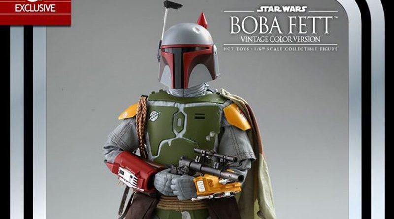 Hot Toys TESB 40th Anniversary Kenner Boba Fett Banner