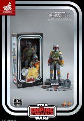 Hot Toys TESB 40th Anniversary Kenner Boba Fett Box