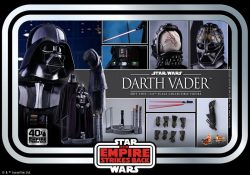 Hot Toys TESB 40th Darth Vader Accessories