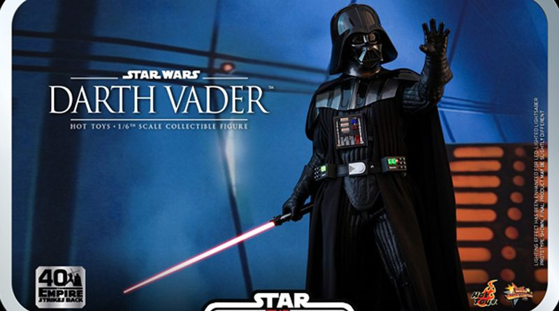 Hot Toys TESB 40th Darth Vader Banner