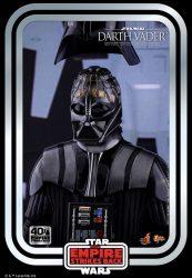 Hot Toys TESB 40th Darth Vader Helmet