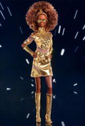 Mattel Star Wars x Barbie C-3PO Loose