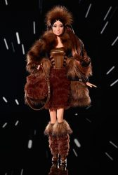 Mattel Star Wars x Barbie Chewbacca Loose