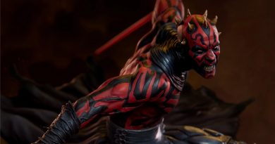 New Sideshow Darth Maul Mythos Statue Announced
