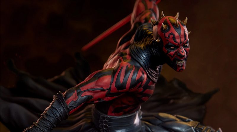 Sideshow Mythos Darth Maul Banner
