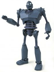 DST Figure Iron Giant Pointing