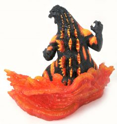 DST Gallery Burning Godzilla Back