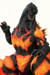 DST Gallery Burning Godzilla Closeup