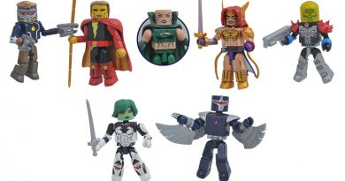 Now On Sale From Diamond Select Toys, Marvel Minimates Series 79, Rocketeer & IT