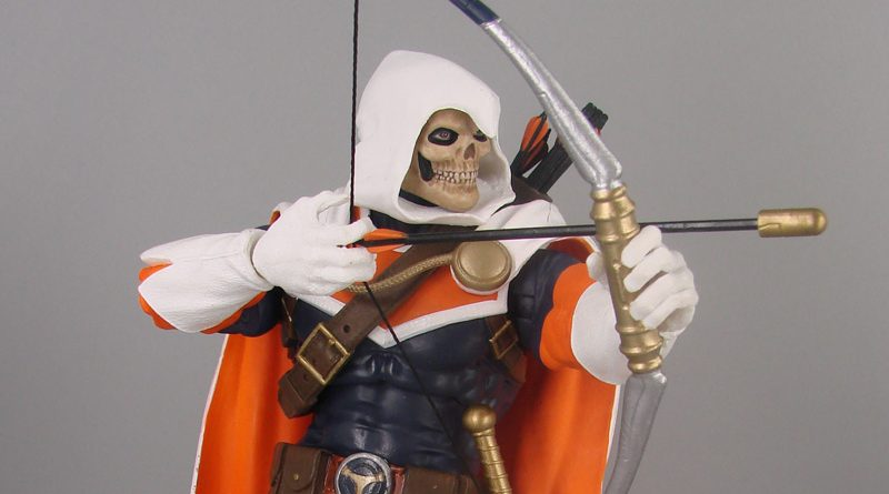 DST Marvel Select Comic Taskmaster Banner