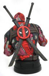 DST SDCC Bust Deadpool Zombie Back