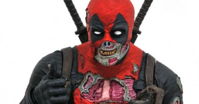 Zombified Deadpool Bust By Diamond Select