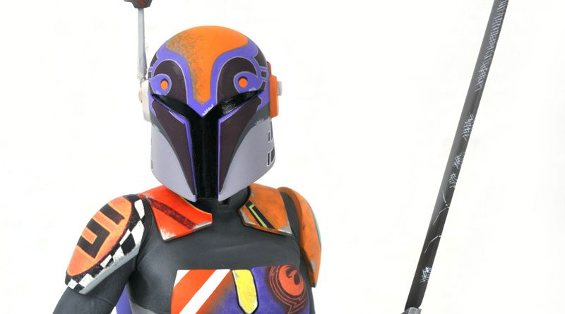 Sabine Wren Bust By Gentle Giant Available For Pre-order