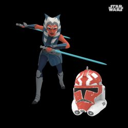 Hallmark SWCA Ornament Ahsoka 332nd