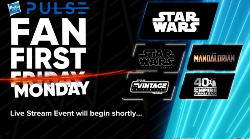 Hasbro Fan First Monday 6-22 Banner