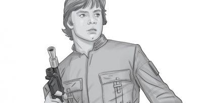 Concept Art For Bespin Luke Skywalker Bust From Gentle Giant