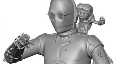 Gentle Giant Teases C-3PO With Babu Frik Bust