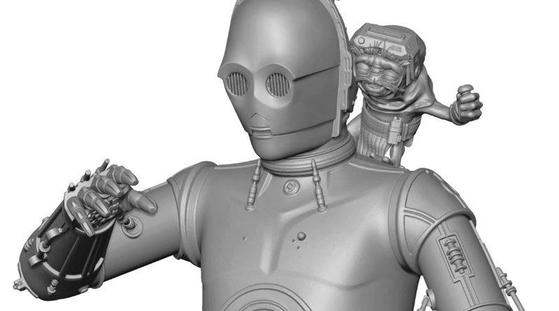 Gentle Giant C-3PO Babu Frik Banner