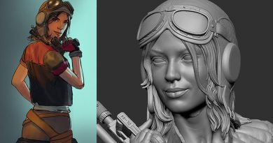 Doctor Aphra Bust Concept Revealed By Gentle Giant