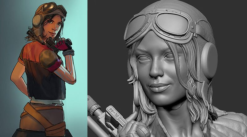 Gentle Giant Doctor Aphra Bust Concept Banner
