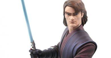 Anakin Skywalker Animated Mini Bust Pre-order