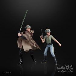 Hasbro SDCC BS Heroes of Endor Luke Leia