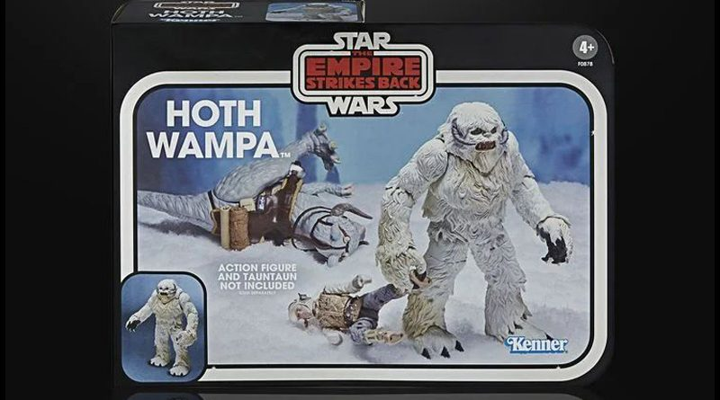 Black Series Kenner Packaged Hoth Wampa For SDCC