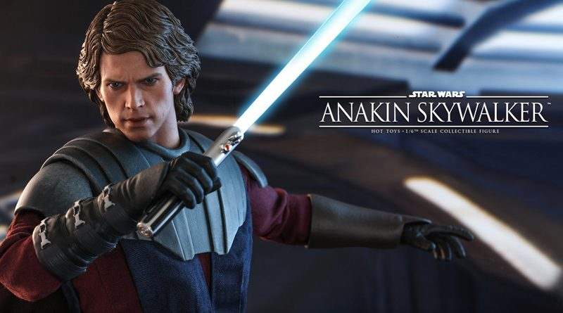 Hot Toys TCW Anakin Skywalker Accessories Banner