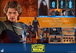 Hot Toys TCW Anakin Skywalker Accessories STAP
