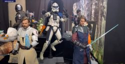 Hot Toys TCW Obi-Wan Kenobi Anakin Skywalker