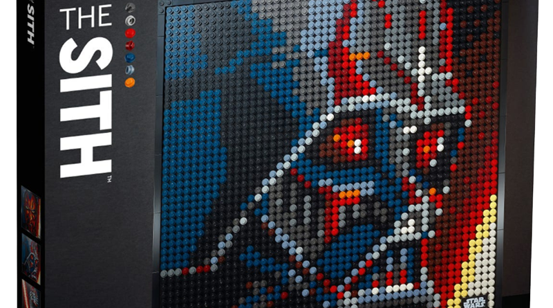 LEGO Art 31200 Star Wars The Sith Pkg Banner