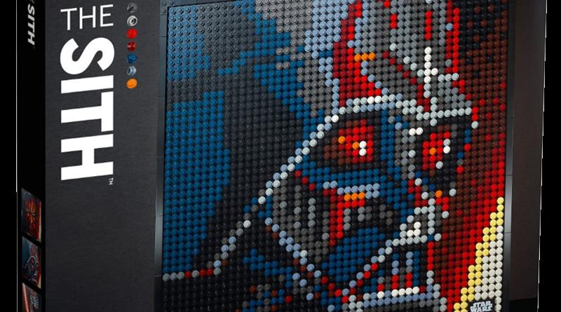 LEGO Art 31200 Star Wars The Sith Pkg Banner