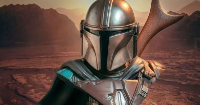 Legends In 3D The Mandalorian Bust Out Now