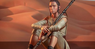 Gentle Giant Ltd Rey Dreamer Statue Out Now
