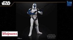 Hasbro BS Lieutenant Clone Trooper Loose