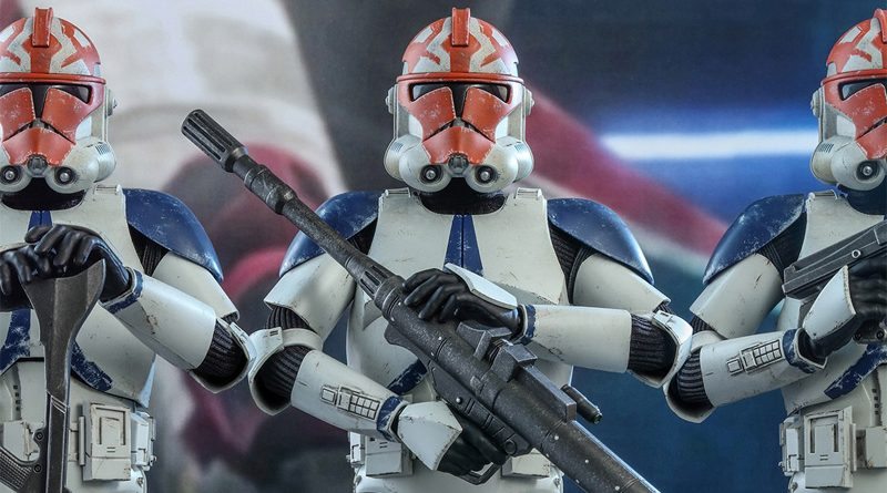 Hot Toys 501st Clone Trooper Deluxe Banner