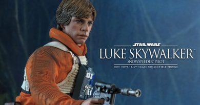Hot Toys Announces Luke Skywalker Snowspeeder Pilot