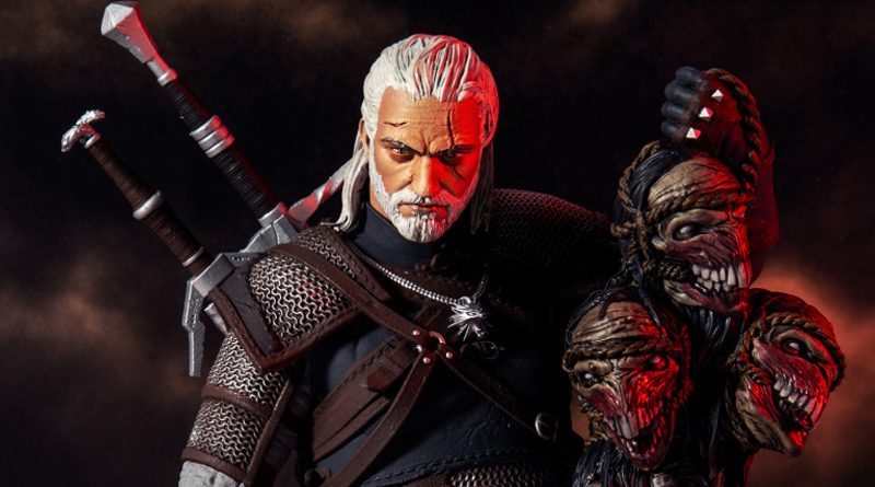 McFarlane Toys The Witcher Geralt Banner