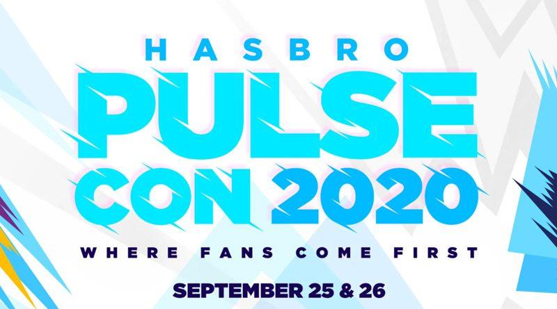 Hasbro PulseCon 2020 Banner