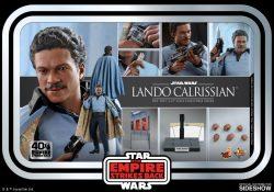 Hot Toys TESB Lando Calrissian Accessories
