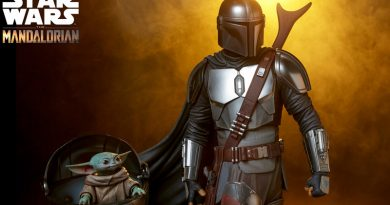 Premium Format The Mandalorian And Child By Sideshow