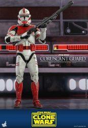 Hot Toys TCW Coruscant Guard Clone Trooper Rifle
