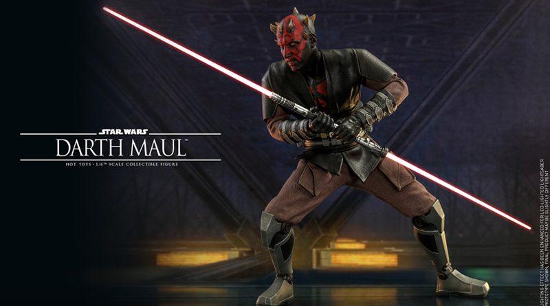 Hot Toys Darth Maul Clone Wars Edition Announced