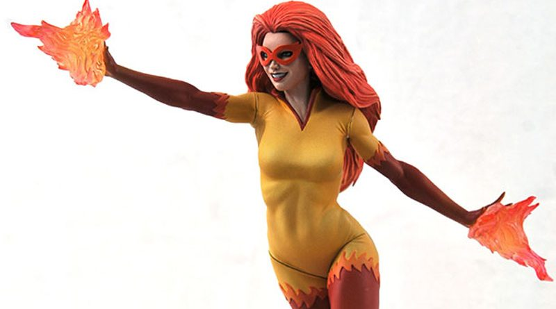 DST Marvel Gallery Firestar Banner