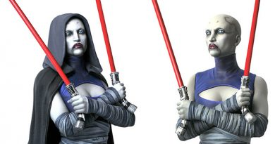 Asajj Ventress Mini Bust By Gentle Giant Pre-order