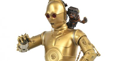 C-3PO With Babu Frik Mini Bust By Gentle Giant Pre-order